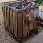 IBC-s üzemanyag-kimérő